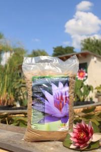 Substrat für Seerosen und Teichpflanzen
